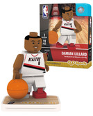 Portland Trail Blazers DAMIAN LILLARD Home Uniform Limited Edition OYO Minifigure