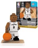 San Antonio Spurs TONY PARKER Home Uniform Limited Edition OYO Minifigure