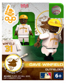 San Diego Padres Dave Winfield Hall of Fame Limited Edition OYO Minifigure