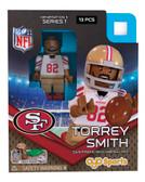 San Francisco 49ers TORREY SMITH Limited Edition OYO Minifigure
