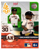 San Francisco Giants Orlando Cepeda Hall of Fame Limited Edition OYO Minifigure