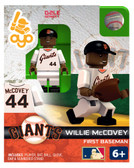 San Francisco Giants Willie McCovey Hall of Fame Limited Edition OYO Minifigure