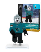 San Jose Sharks S.J. SHARKIE SHARKIE Home Uniform Limited Edition OYO Minifigure
