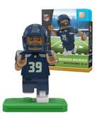 Seattle Seahawks BRANDON BROWNER Home Uniform Limited Edition OYO Minifigure