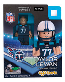 Tennessee Titans TAYLOR LEWAN Limited Edition OYO Minifigure