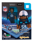 Tennessee Titans WESLEY WOODYARD Limited Edition OYO Minifigure
