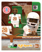 Texas Longhorns MALCOLM BROWN College Legend Limited Edition OYO Minifigure