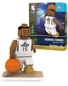 Utah Jazz DERRICK FAVORS Home Uniform Limited Edition OYO Minifigure