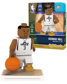 Utah Jazz GEORGE HILL Home Uniform Limited Edition OYO Minifigure