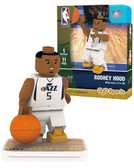 Utah Jazz RODNEY HOOD Home Uniform Limited Edition OYO Minifigure