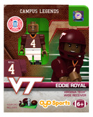 Virginia Tech Hokies Eddie Royal College Legend Limited Edition OYO Minifigure