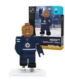 Winnipeg Jets MOOSE MOOSE Home Uniform Limited Edition OYO Minifigure