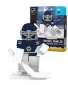 Winnipeg Jets ONDREJ PAVELEC Home Uniform Limited Edition NHL Goalie OYO Minifigure