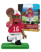 Wisconsin Badgers RUSSELL WILSON College Legend Limited Edition OYO Minifigure