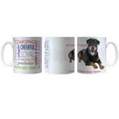 Pet Coffee Mug 11oz Rottweiler