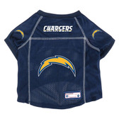 Los Angeles Chargers Pet Jersey Size XS