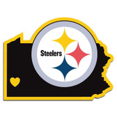 Pittsburgh Steelers Decal Home State Pride