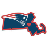 New England Patriots Decal Home State Pride