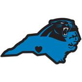 Carolina Panthers Decal Home State Pride