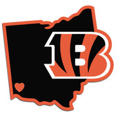 Cincinnati Bengals Decal Home State Pride