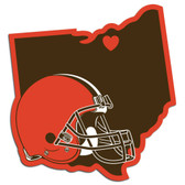 Cleveland Browns Decal Home State Pride