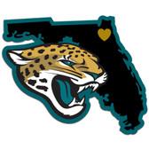 Jacksonville Jaguars Decal Home State Pride