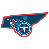 Tennessee Titans Decal Home State Pride