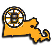 Boston Bruins Decal Home State Pride Style