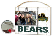 Baylor Bears Clip It Weathered Logo Photo Frame