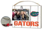 Florida Gators Clip It Weathered Logo Photo Frame