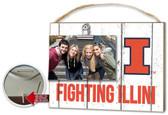 Illinois Fighting Illini Clip It Weathered Logo Photo Frame