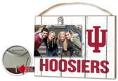 Indiana Hoosiers Clip It Weathered Logo Photo Frame