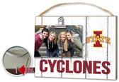 Iowa State Cyclones Clip It Weathered Logo Photo Frame