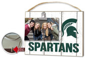 Michigan State Spartans Clip It Weathered Logo Photo Frame