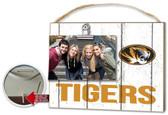 Missouri Tigers Clip It Weathered Logo Photo Frame
