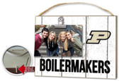 Purdue Boilermakers Clip It Weathered Logo Photo Frame