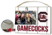 South Carolina Gamecocks Clip It Weathered Logo Photo Frame