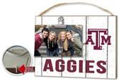 Texas A&M Aggies Clip It Weathered Logo Photo Frame