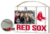 Boston Red Sox Clip It Weathered Logo Photo Frame