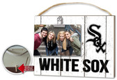 Chicago White Sox Clip It Weathered Logo Photo Frame