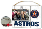 Houston Astros Clip It Weathered Logo Photo Frame