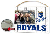 Kansas City Royals Clip It Weathered Logo Photo Frame