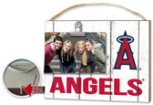 Los Angeles Angels Clip It Weathered Logo Photo Frame