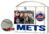 New York Mets Clip It Weathered Logo Photo Frame