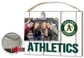 Oakland Athletics Clip It Weathered Logo Photo Frame