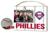Philadelphia Phillies Clip It Weathered Logo Photo Frame