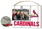 St. Louis Cardinals Clip It Weathered Logo Photo Frame