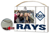 Tampa Bay Rays Clip It Weathered Logo Photo Frame