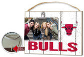 Chicago Bulls Clip It Weathered Logo Photo Frame
