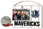 Dallas Mavericks Clip It Weathered Logo Photo Frame